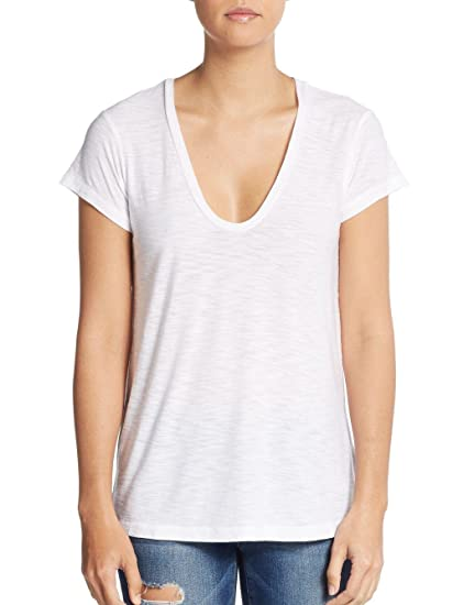 55583722f99 Image Unavailable. Image not available for. Color: James Perse V-Neck Cotton  & Modal Tee ...