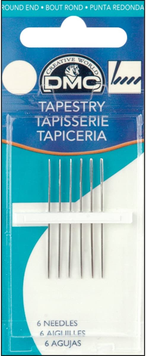 DMC 1767-13 Tapestry Hand Needles, 2-Pack, Size 13
