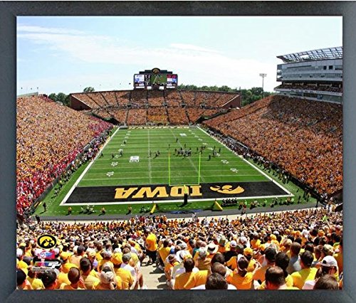 Kinnick Stadium University of Iowa Hawkeyes NCAA Photo (Size: 17'' x 21'') Framed by NCAA