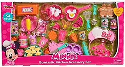 Just Play Minnie Bow-Tique Bowtastic Kitchen Accessory Set
