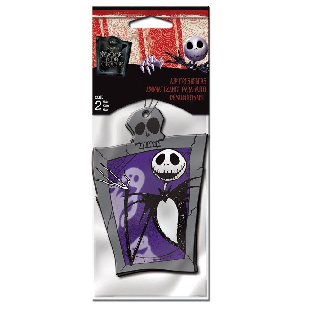 Amazon.com: Nightmare Before Christmas Hanging Air Freshener 2 Pcs ...