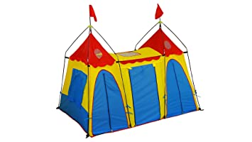 Giga Tent Fantasy Palace Play Tent  sc 1 st  Amazon.com : little tikes carnival tent play center - memphite.com