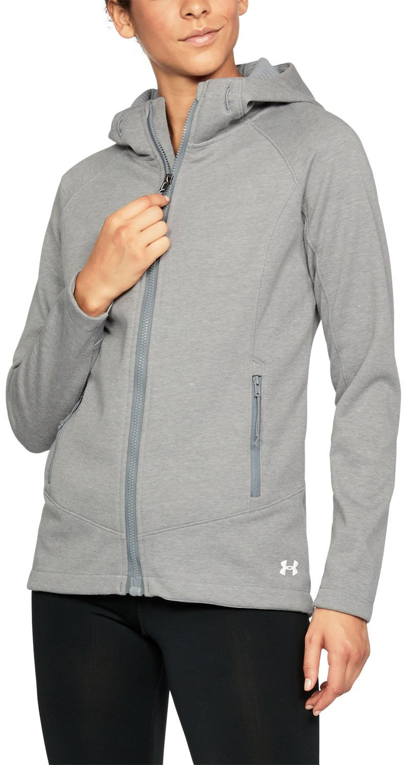 Under Armour UA ColdGear Dobson Softershell LG True Gray Heather by Under Armour