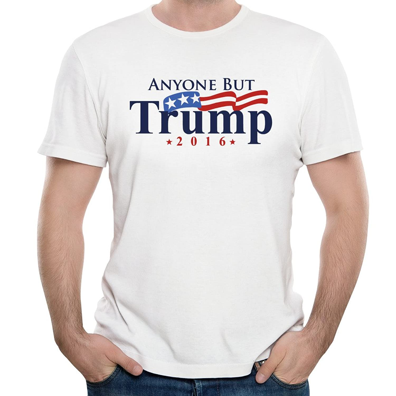 Anyone But Trump Anti-trump 2016 Man T-shirts Short Sleeve