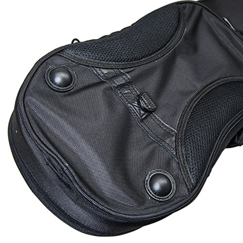 PAITITI Triangular Full Size Violin Soft Bag Lightweight Backpackble Black Color by Paititi (Image #3)