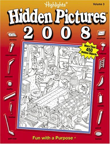 Highlights Hidden Pictures Annual 2008 Volume 3