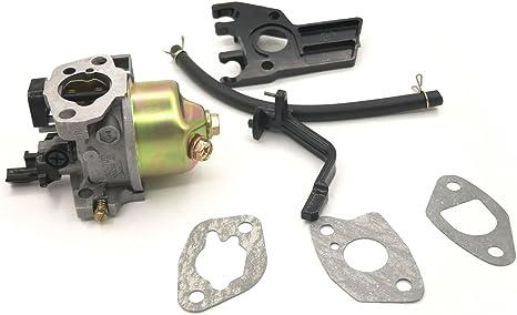 Cancanle Vergaser Mit Dichtung Choke Stange Isolator Distanzstück Ölschlauch Für Honda Gx160 Gx200 168f 5 5 6 5hp 2kw 196cc 163cc Motorgenerator Baumarkt
