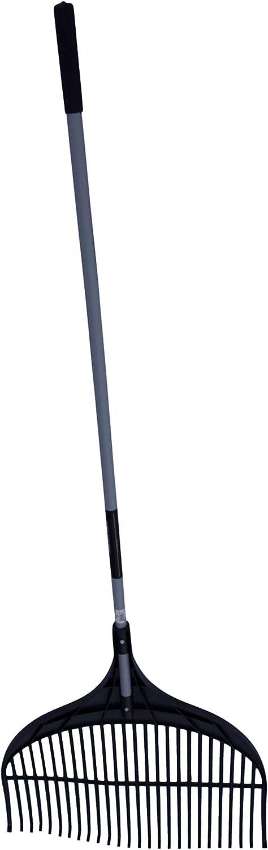 con Manico in Legno Willys-Fachmarkt Truper Larghezza 20 cm Rastrello in plastica