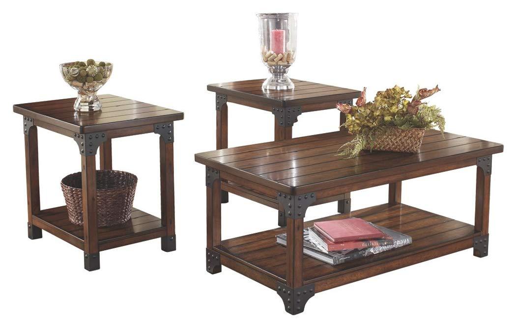 Murphy Coffee Table.Amazon Com Signature Design By Ashley Home Decor Murphy 3 Piece
