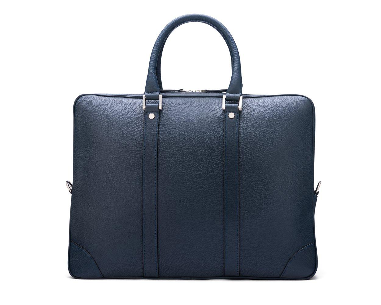 SAGEBROWN Navy Gainsborough Laptop Bag