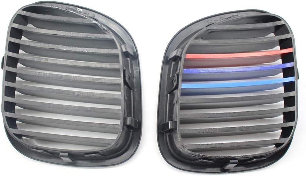 Pandiki Ersatz f/ür BMW Z3 1996-2002 Fahrzeugtyp BMW K/ühlergrill Links vorne 1 Paar Frontbespannung Schwarz Left Right Side Grille 51138412950 51138412949
