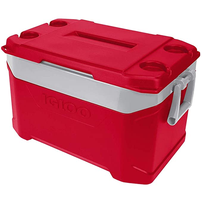 Igloo Nevera portátil Latitude 47 litros Roja Mini, Camping ...