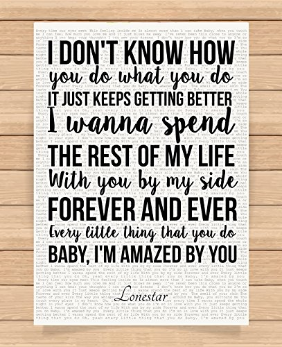 Lonestar Valentines Day Wedding Anniversary Birthday Romantic Presents Gifts Ideas For Her Him Wife Husband Boyfriend Girlfriend Unframed Prints Posters Home Decor Wall Art Bedroom Living Room Buy Online In Macedonia At