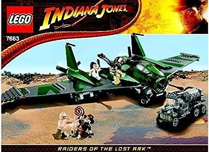 Buy Instruction Manuals For Lego Indiana Jones Set 7683 Fight On