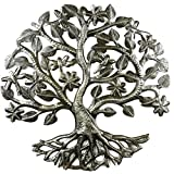 Cheap Croix des Bouquets 14 inch Tree of Life Dragonfly Metal Wall Art