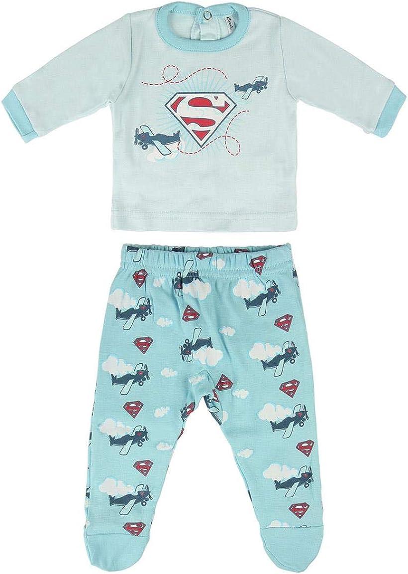 Artesania Cerda Baby Boys Polaina Superman Romper