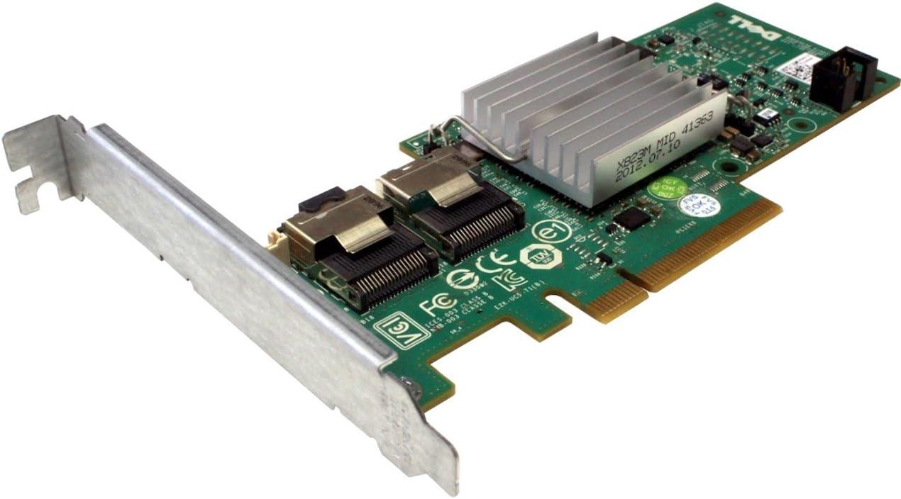 Dell PERC H200 6GBs SAS SATA PCI-E RAID Controller Card 3J8FW