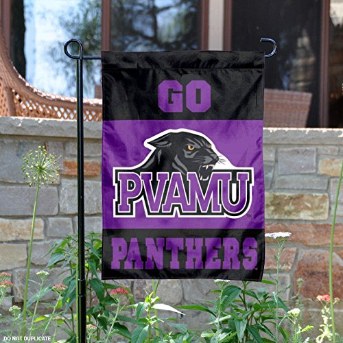 College Flags and Banners Co. Prairie View A&M Panthers Garden Flag