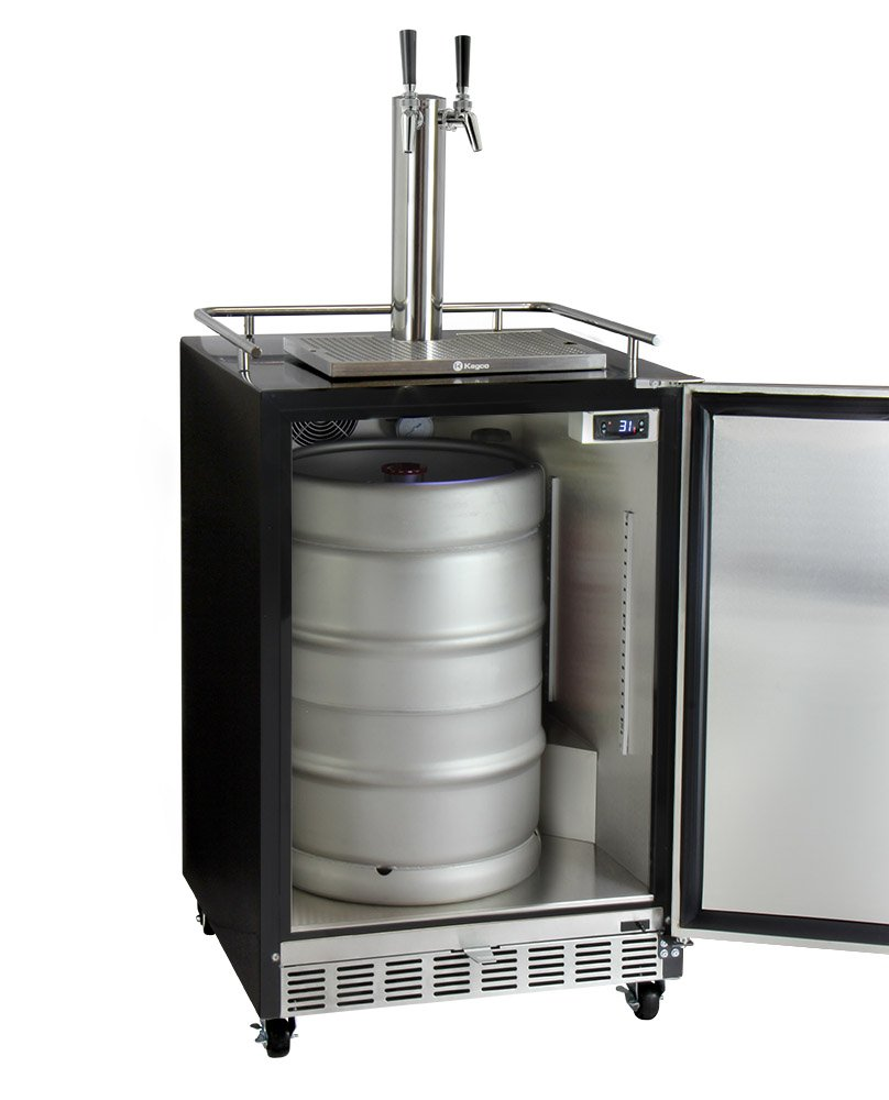 Amazon.com: Kegco HK38BSC-2 2-Tap Commercial Built-In Kegerator w/X-CLUSIVE Dispense Kit: Appliances