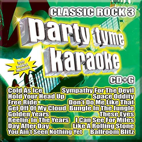 Party Tyme Karaoke - Classic Rock 3 [16-song (Rock Karaoke Music)