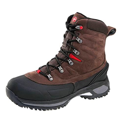167f7b81f77 Amazon.com: Wenger Mens Swiss Army Yeti, Color:Red/Brown, 12.5 D: Shoes