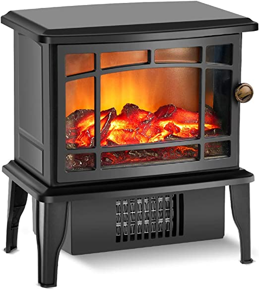 Amazon Com Fireplace Heater Electric Fireplace Heater With 3s