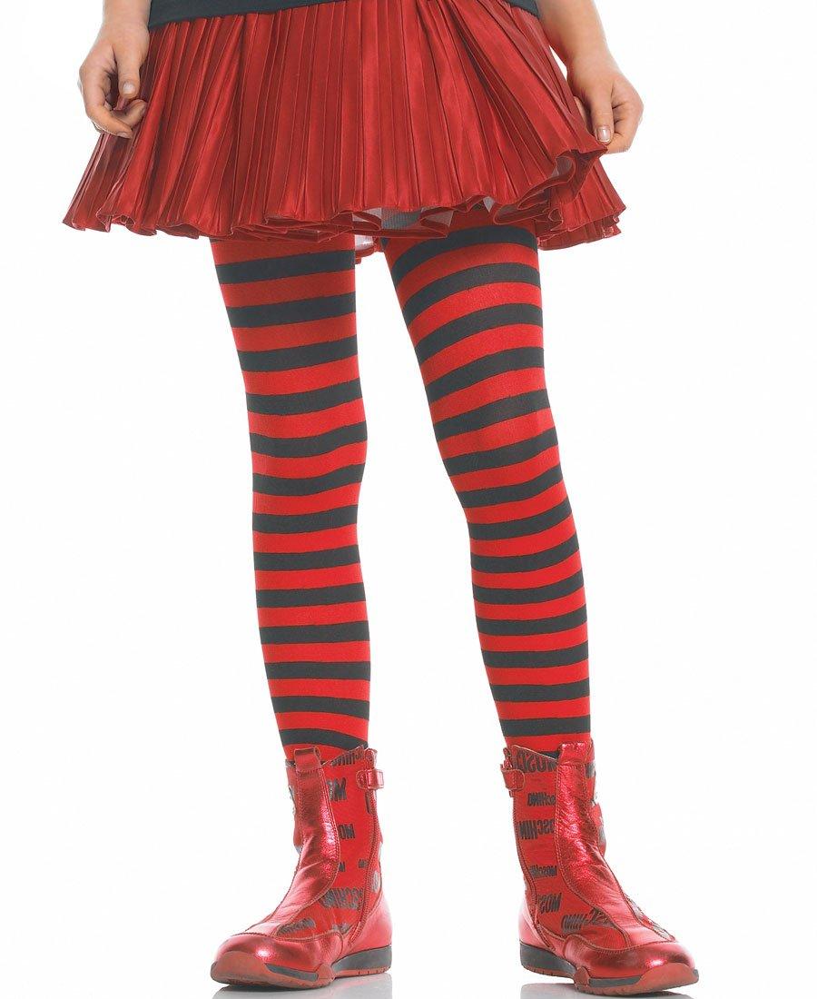 Leg Avenue 4710 Girl Stripe Pantyhose Tights
