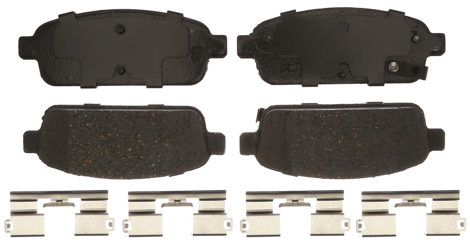 ACDelco 17D1468CHF1 Professional Disc Brake Pad Set