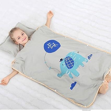 JXWANG Verano del Bebé del Saco De Dormir De Algodón Manta Usable, Pijamas De Dibujos