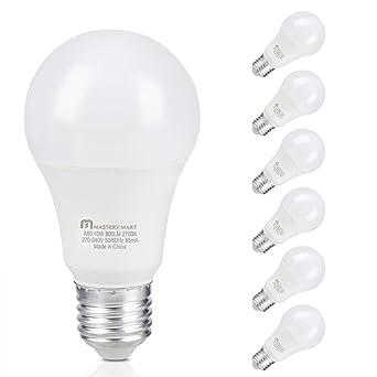 Mastery Mart A60 Ampoule Tamisée S BlancMedium Lumière Edison Led tshdrCQ