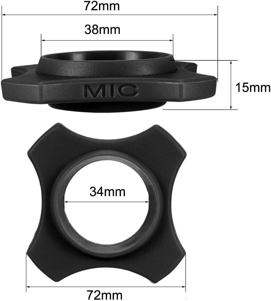 uxcell Wireless Handheld Microphone Protective Kit Black Anti-Rolling Slip Holder Sponge Foam Mic Cover Bottom Rod Sleeve Holder