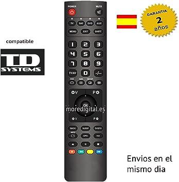 Mando a Distancia Especifico para Television TV TD SYSTEMS: Amazon.es: Electrónica