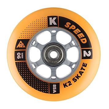 K2 3053013.1.1.1 ILQ 9 - Paquete de 8 Ruedas para Patines en línea (90 mm): Amazon.es: Deportes y aire libre