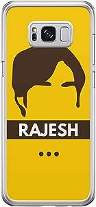Samsung S8 Transparent Edge Case The Big Bang Theory Rajesh -Multicolor