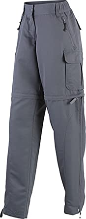 James & Nicholson Ladies' Zip-Off Pantalones premamá, Mujer