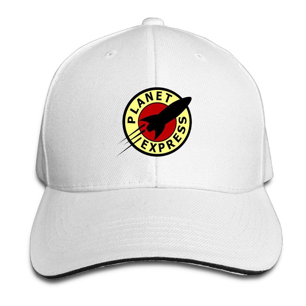 Leff Baseball Hats Futurama Planet Express Logo Sandwich Cap ...