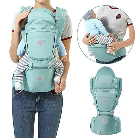 Mochila portabebés, Fular portabebés, InnoBeta portabebés Ergonomica con Múltiples posiciones para llevar a tu bebe Manos libres, con 2 modos para ...
