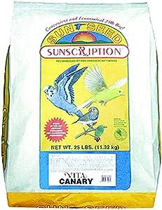 Vitakraft Sunseed Vita Canary - 25 lbs