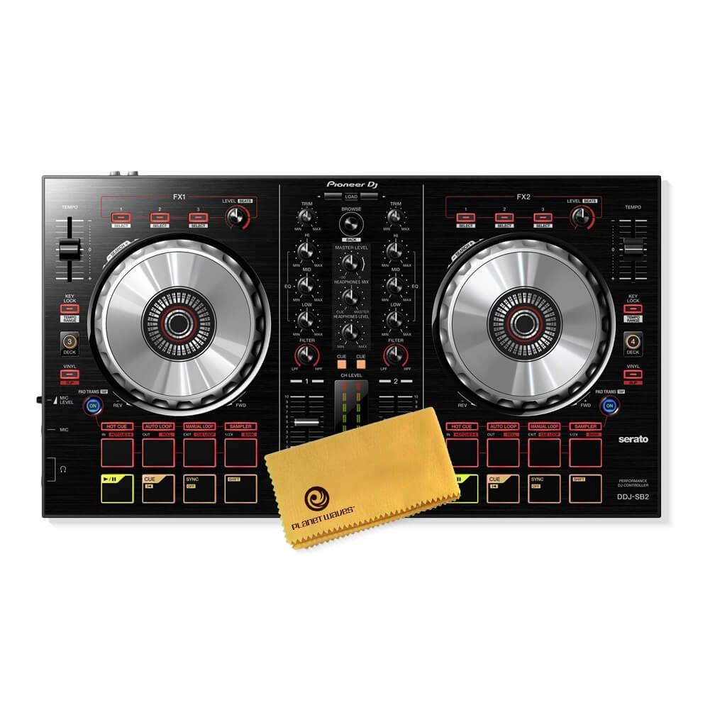 Pioneer DJ DDJ-SB2 Portable 2-channel controller for Serato DJ Pioneer Pro DJ