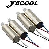 Yacool® mis à niveau 4 pièces moteur vers la gauche et vers la droite avec RC Quadcopter pièces de rechange pour Syma X5SW, X5SW-1, X5SC,