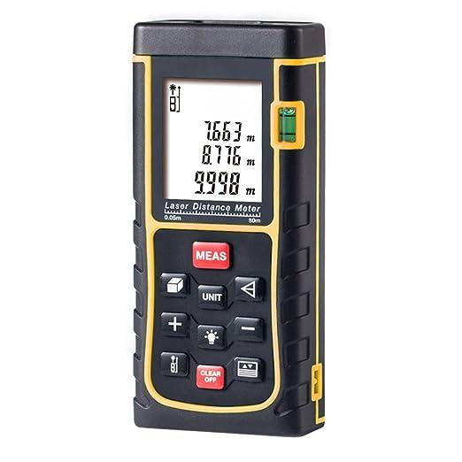 184 opinioni per Metro Laser 80m, GRDE Misuratore Laser di Distanza Professionale, Telemetro