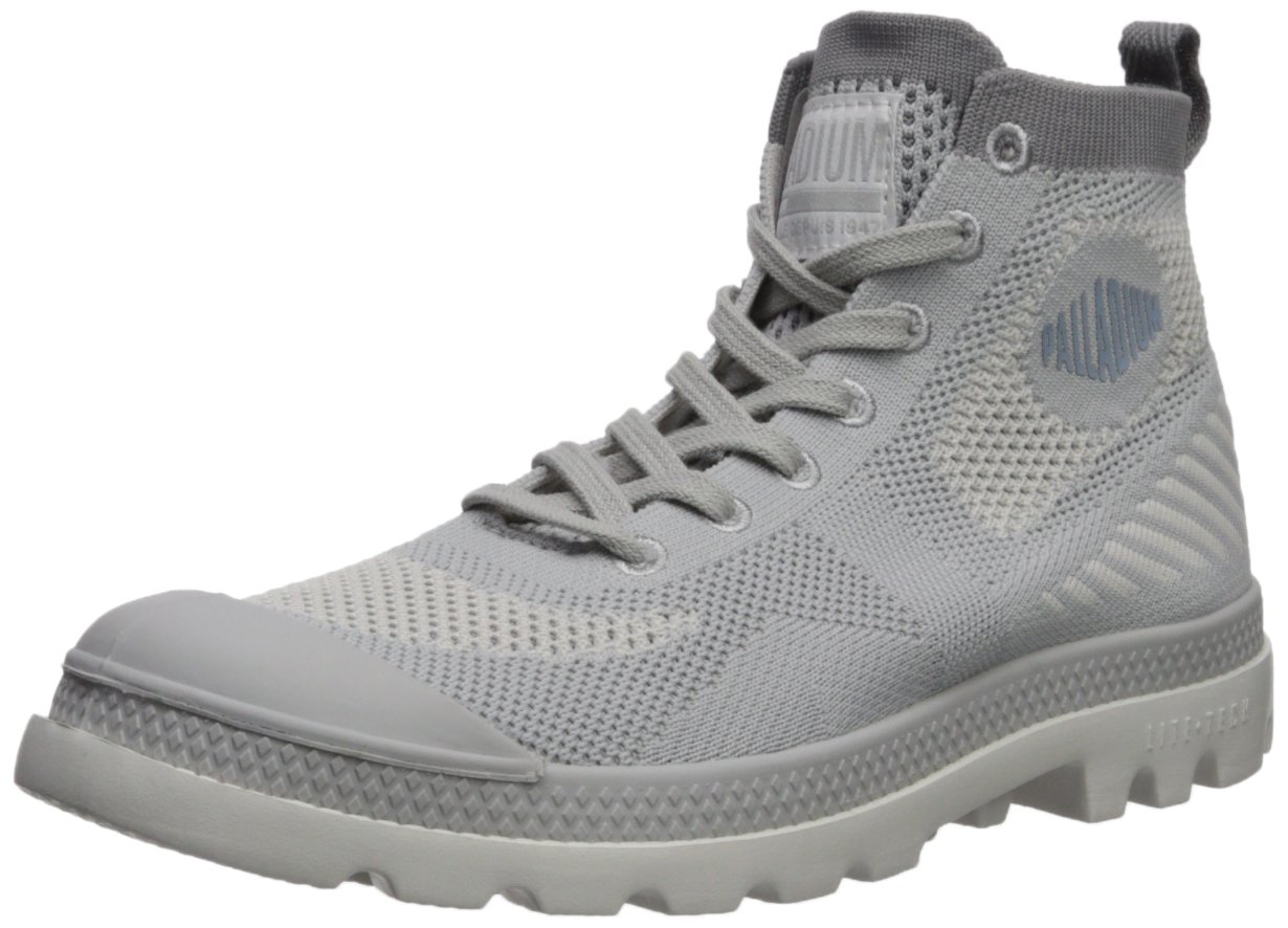 Palladium Women's Pampa Hi Lite K Ankle Boot B074B761BG 8 B(M) US|Grey