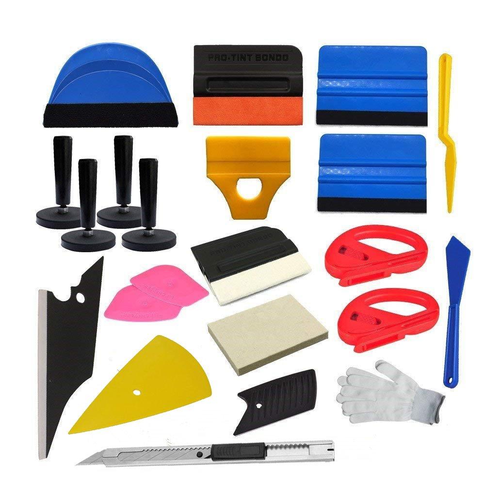 CARLAS Economy Combo Pro Tool kit Car Vinyl Wrap Squeegee Tools
