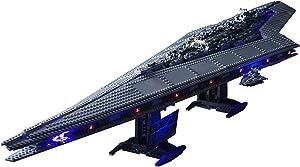QZPM Kit De Iluminación Led para Lego Super Star Destroyer, Compatible con Ladrillos De Construcción Lego Modelo 10221, Juego De Legos No Incluido