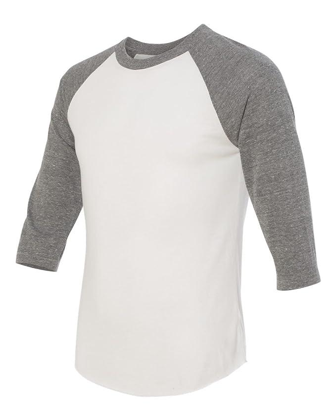 6d876026d Amazon.com: Alternative Men's Baseball T-Shirt: Clothing