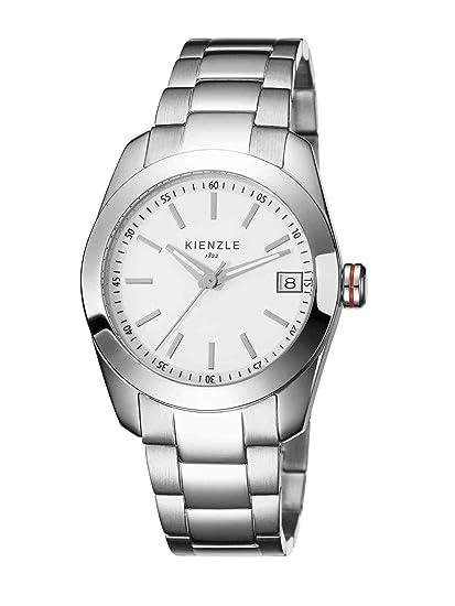 Kienzle K3012011052-00011 - Reloj analógico de cuarzo para mujer con correa de acero inoxidable