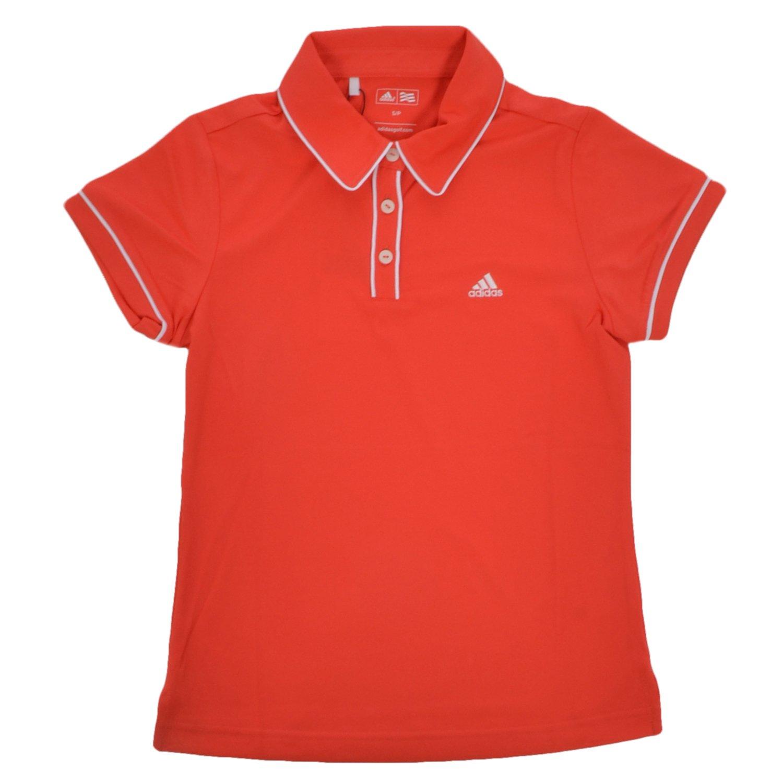 adidas Performance - Polo Niña - Golf - Naranja/Blanco - S: Amazon ...