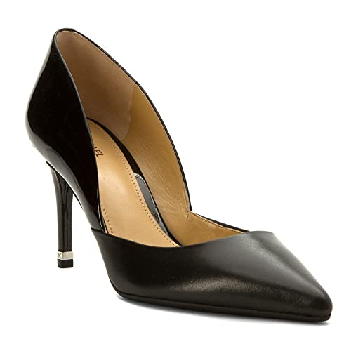 d0660ec612 Michael Kors 40T6ABMP2L Decollete Donna Smooth Calf/patent Nero Nero 36œ:  Amazon.it: Scarpe e borse