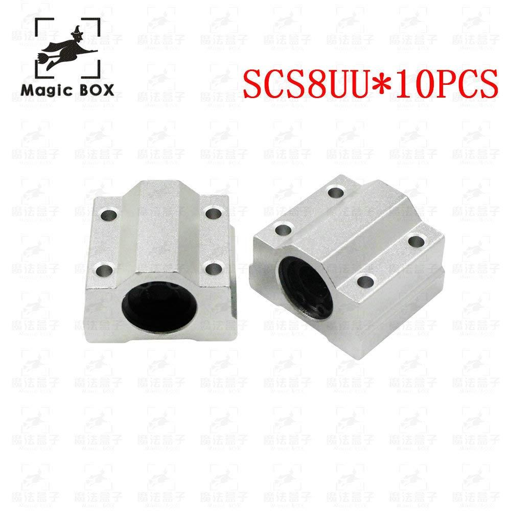 Impresora 3D – 10 piezas SC8UU SCS8UU 8 mm rodamiento lineal de ...