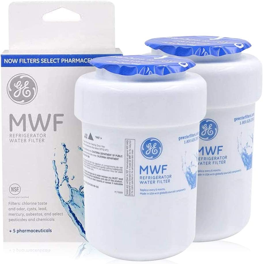 GЕ MWF Refrigerator Water FIlter GE MWF Smartwater Filter, 2-Pack